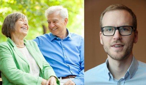 Forsker og rådgiver i Pensjonistforbundet, Sindre Farstad. mener eldrebølgenkonseptet er en bløff.