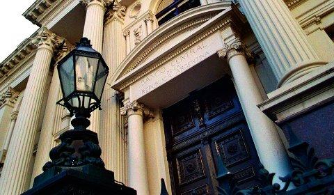 Hovekontoret til den argentinske sentralbanken Banco Central de la República Argentina i Buenos Aires.