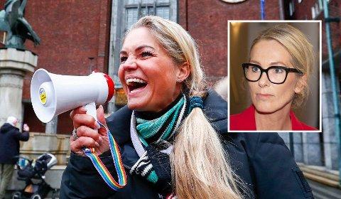 AKSJONIST: Bompengeaksjonist Cecilie Lyngby har søkt på jobben som Innovasjon Norge-sjef.