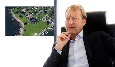 NÆRMESTE NABO: Bjørn Rune Gjelsten har bladd opp 19 millioner på Bygdøy for et rekkehus som er nærmeste nabo til hans strandeiendom.