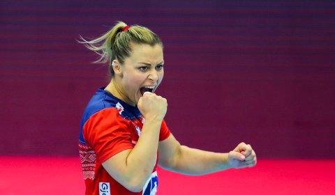 TILBAKE: Nora Mørk er klar et nytt mesterskap med de norske håndballjentene.