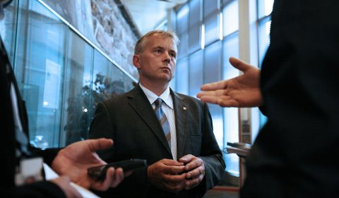 Justisminister Knut Storberget (Ap)