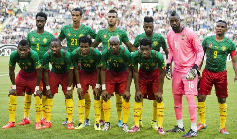 KREVER MER: Kameruns spillere er ikke fornøyd med bonustilbudet de har fått fra staten.