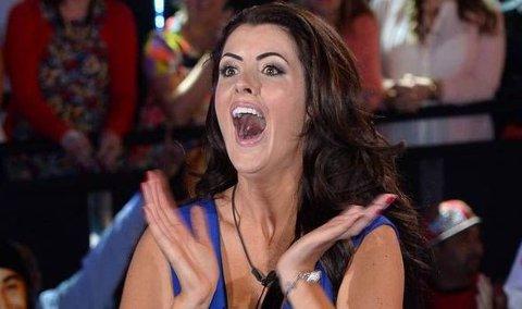 VANT: Helen Wood vant gårsdagens finale av Big Brother.