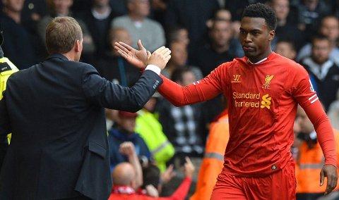 SKADET: Liverpool må trolig klare seg uten Daniel Sturridge ut året.