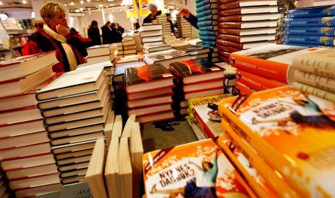 Mammutsalget av bøker startet først i mars i år, som trekker ned detaljhandelen.