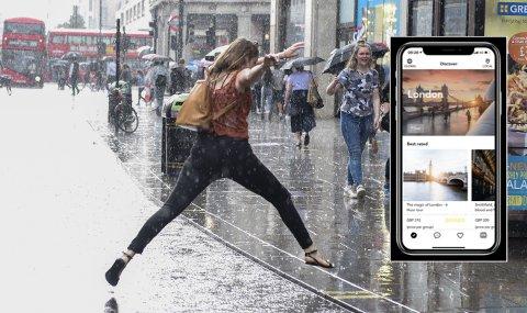 LONDON FØRST UT: Norske Live International får gjennom en storavtale med kjente hotellkjeder som Hyatt og Millenium potensielt tilgang på millioner av turister som fra hotellrommet kan bruke deres app til å booke guidetjenester. London, København og Madrid er først ute av storbyene avtalen omfatter.