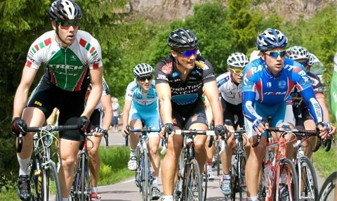 RITT: Til helgen er Maridalen forbeholdt syklistene.