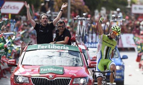 VANT: Alessandro De Marchi jubler for seier.