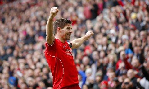 LEGENDE: Steven Gerrard er en av de aller største i Liverpool FCs historie.