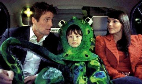 LOVE ACTUALLY: David håper å sjarmere Natalie, men det er ikke så lett med en blekksprut i midten.