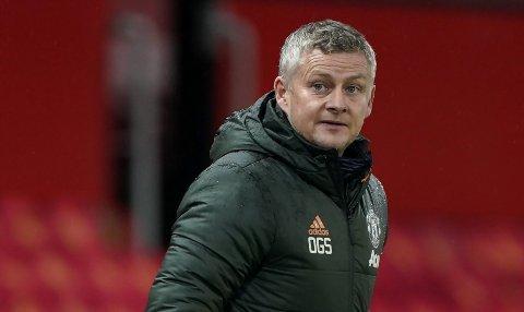 HAR FOKUS PÅ FRAMGANG: Manchester United-manager Ole Gunnar Solskjær.