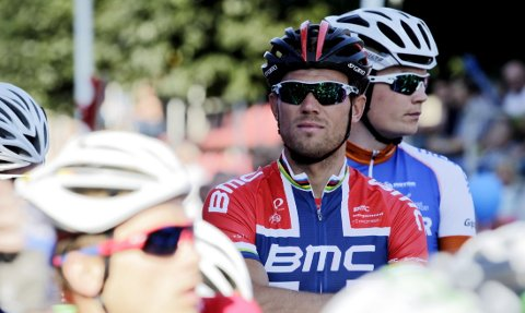 OMBESTEMT SEG: Thor Hushovd sykler likevel Milano - Sanremo.