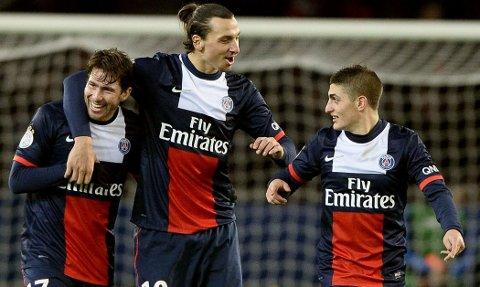BESTEKOMPISER: Maxwell og Zlatan Ibrahimovic møttes i Ajax og har siden vært bestevenner.