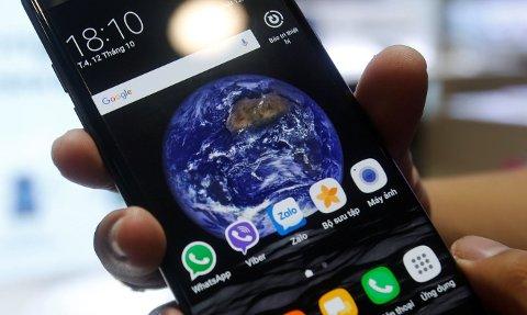 DENNE telefonen har gitt Samsung mye hodebry.