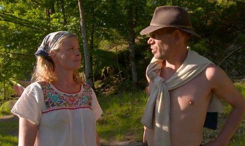 HAR FUNNET TONEN: Vendela Kirsebom og Leif-Einar Lothe har respekt for hverandre i Farmen Kjendis.