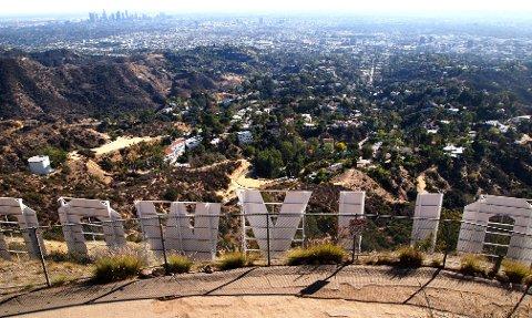 BEACHWOOD CANYON: Visse beboere i området under Hollywood-skiltet har kjempet en kamp mot besøkende i mange år.