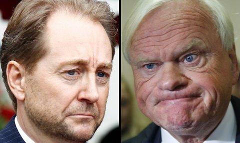 STOREIERE: Samarbeidet til Kjell Inge Røkke (til venstre) og John Fredriksen har så langt vært en stor fiasko.