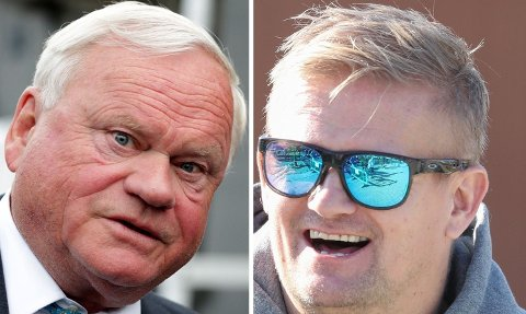 OLJEAKSJER: Alfie Haaland (til høyre) har kjøpt seg opp i John Fredriksen-kontrollerte Archer.