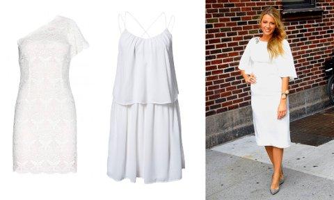 En hvit sommerkjole kan brukes til de fleste anledninger. Her er våre ni favoriter.