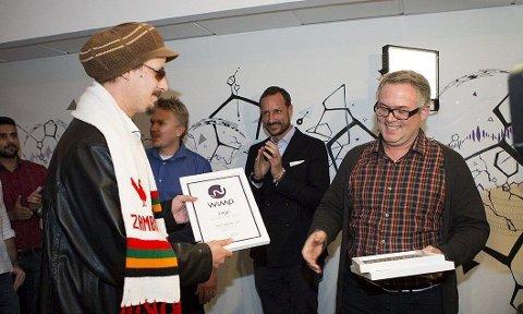 ENGEL: Admiral P og Nico Ds låt Engel er den norske sangen som er mest streamet hos Wimp i 2014. FOTO: WIMP/KARINA RØNNING