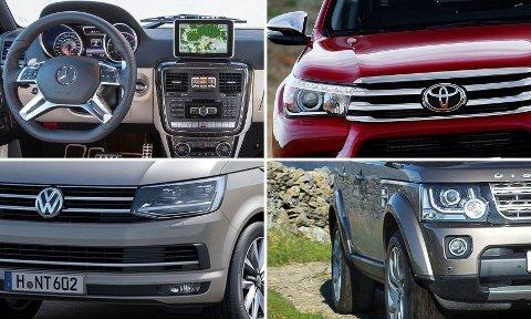 Noen av bilene som kommer verst ut av det i forbindelse med omleggingen av avgiftene, risikerer å bli mellom 70.000-90.000 kroner dyrere.