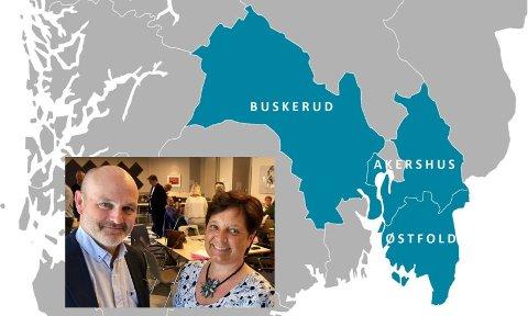 VISJONÆRE: Andreas Lervik og Lise Lund leder arbeidet med å meisle ut den nye visjonen.