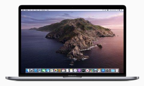 NYTT OPERATIVSYSTEM: MacOS Catalina er tilgjengelig for nedlasting fra 8. oktober 2019.