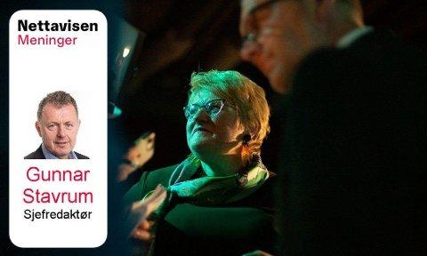 SITTET LENGE: Venstre-leder Trine Skei Grande har stått på i mange år.