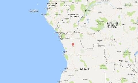 17 DØDE: Ulykken skjedde på en fotballstadion i byen Uige nord i Angola.