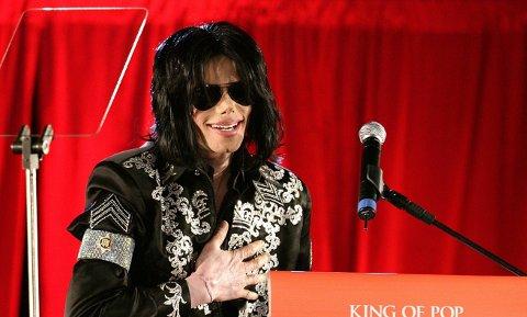 FJERNER MUSIKKEN: NRK fjerner musikken til Michael Jackson for en kort periode.