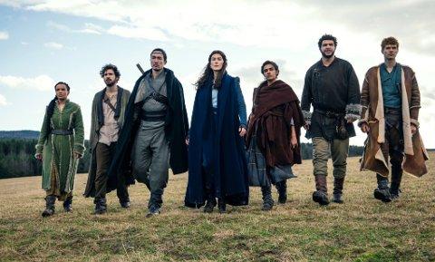 HØYE FORVENTNINGER: Snart kommer serien basert på fantasybøkene The Wheel of Time, også kjent som Tidshjulet på norsk.