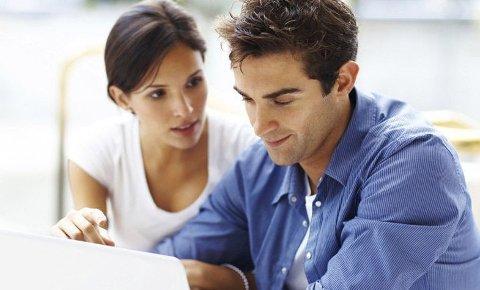 TRYGGHET: Begge kjønn oppgir økonomiske årsaker som en av hovedgrunnene til at de flytter sammen.