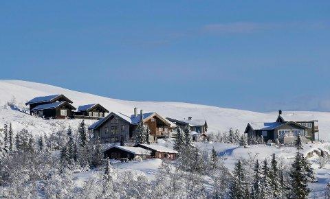 Prisene for fritidsboliger på fjellet steg for tredje år på rad i 2017. Størst vekst finner du i hytter nær alpinanlegg. Bildet viser fritidsboliger i Eggedalsfjellet på vestsiden av Norefjell i Buskerud.