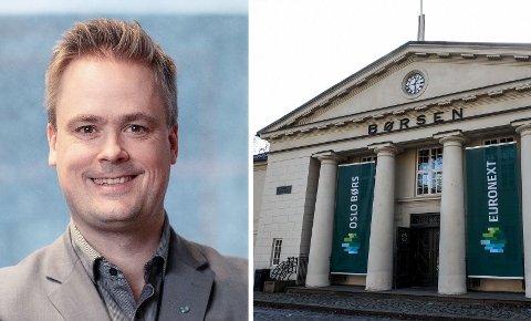 UNNGÅ NYBEGYNNERFEIL: Privatøkonom Endre Jo Reite i BN Bank med gode råd til Norges mange ferske aktører på børs.