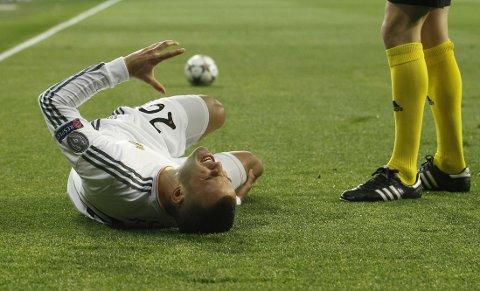 SKADET: Jese Rodriguez er ute i et halvt år med skade.