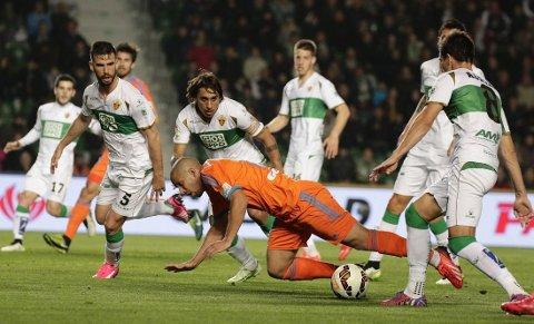 NED: Elche blir degradert til Segunda Division.