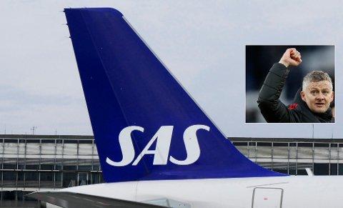 FLERE FLY: SAS setter opp to nye ukentlige ruter til Manchester. Foto: Erik Johansen / NTB scanpix /Ben Stansall/AFP