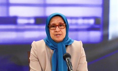 Farideh Goudarzi (59) hevder hun ble torturert gjentatte ganger på direkte ordre av Ebrahim Raisi mens han selv holdt oppsyn med mishandlingen fra et hjørne i rommet.