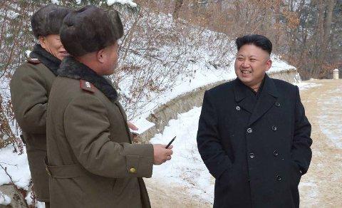 GRUNN TIL Å GLISE: Nord-Korea har ingen utøvere som er med i OL i Sotsji, men det betyr ikke at internett ikke kan ha det morsomt på landets bekostning. Nå sprer et bilde av Nord-Koreas medaljefangst seg på sosiale medier, sammen med nyheten om at landets leder Kim Jong-Un skal ha tatt flere gullmedaljer - i parøvelser.