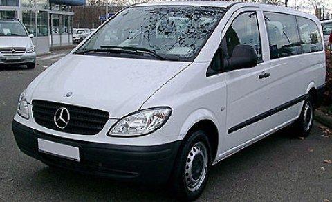 DENNE TYPEN BIL: Det var en varebil av denne typen som ble konfiskert.