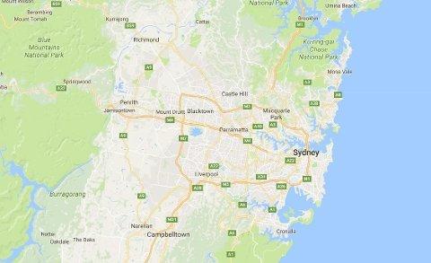 Richmond nordvest for Sydney