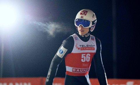 VISER STRÅLENDE FORM: Johann André Forfang. Her avbildet i Finland tidligere i sesongen.