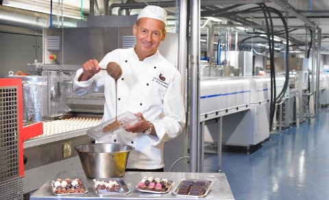 OPPTUR: Fabrikkeier Rolf Rune Forsberg har solgt sjokololade for mer enn 20 millioner kroner i år.