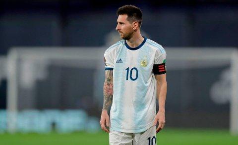 VIL HA FORSIKRINGER? En Manchester City-overgang kan forsatt være aktuelt for Lionel Messi, men argentineren vil tilsynelatende ha et par gamle venner i klubben om han skal bytte beite.