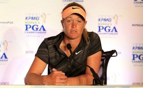 I FORM: Suzann Pettersen vant forrige helgs turnering.