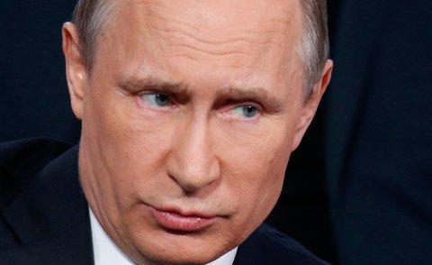 AVVISER ALT: Russlands president Vladimir Putin tok torsdag bladet fra munnen om Panama-saken og avviste alle anklager om mulig korrupsjon.