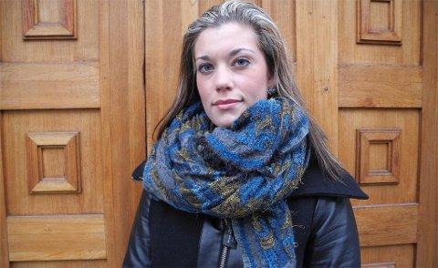 I Bergensavisen forteller Sara Berge Økland om hvordan hun opplevde å bli utsatt for trakassering fra mer sentralt plasserte personer i partiet. Dette er et arkivfoto av Sara Berge Økland fra da hun var formann i Hordaland Fpu.