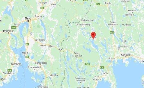 Politiet kom babyen til unnsetning i Arvika i Sverige mandag.