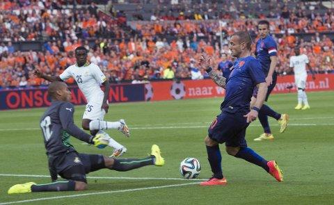 TAP: Ghana tapte mot Nederland.